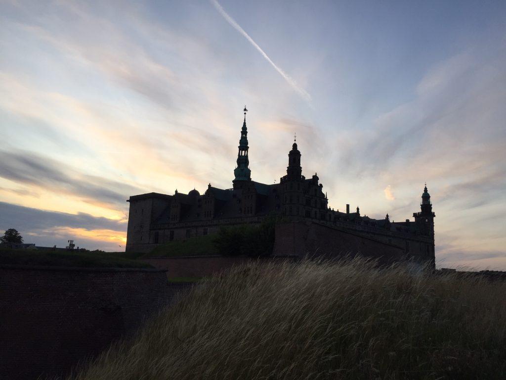 Kronborg i det sidste lys